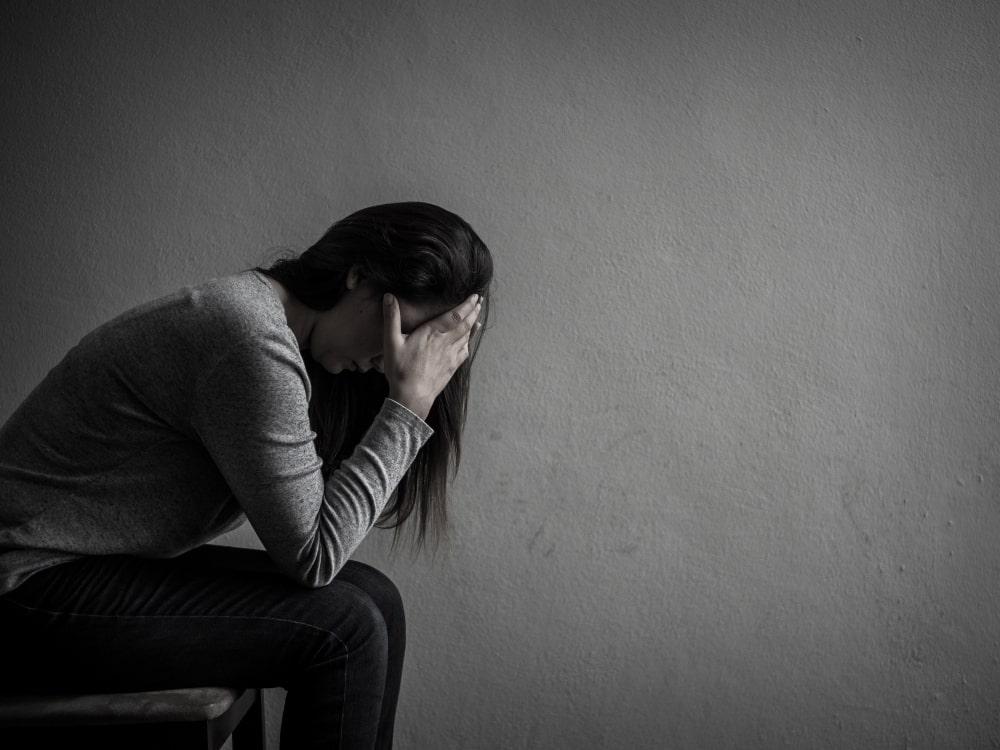 personne en dépression